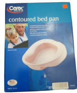 CAREX CONTOURED BED PAN BRAND NEW IN BOX #P704-00