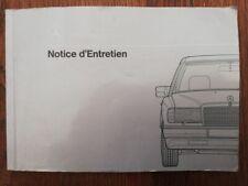 MERCEDES BENZ W124 200 250 300 MANUEL UTILISATION NOTICE EMPLOI betriebsanleitun