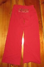Nike FitDry red full length Sweatpants CHINA Size M