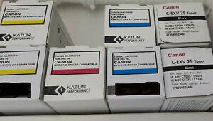 Toner C-EXV 29 / GPR-31 original + kompatibel , black, magenta, cyan, gelb