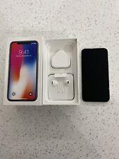 Apple MQAG2B/A iPhone X - 256GB - Silver (Unlocked)