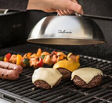 Bellemain Stainless Steel Cheese Melting Dome Silver BBQ Grill Gadget Kitchen