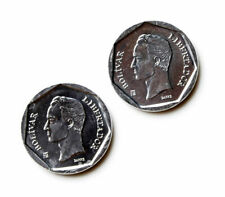 Venezuela Coin Cufflinks