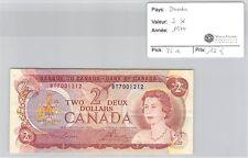 BILLET CANADA - 2 DOLLARS 1974 *