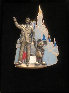 Disney Trading Pin Mickey And Walt In Magic Kingdom W Box 2005