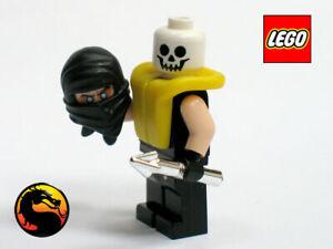 LEGO MORTAL KOMBAT SCORPION Custom Minifigure + Weapons MOC Official Parts MK