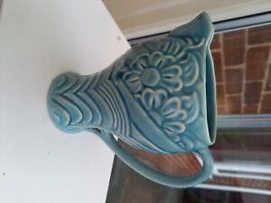 wade vase blue floral circa1940. Excellent condition
