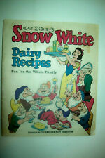 "Vintage 1955 ""Snow White Dairy Recipes"" Book from The American Dairy Association"