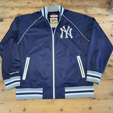NEW YORK YANKEES MITCHELL NESS COOPERSTOWN COLLECTION BASEBALL JACKET Size 2XL