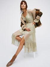 Free People | Shine Maxi Shirt Dress Size Large L F4 $168