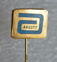 Abbott Laboratories American pharmaceuticals health care vintage stick pin badge
