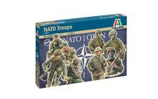 Italeri 1/72 NATO Troops 1980's Soldiers Set 6191 NEW!