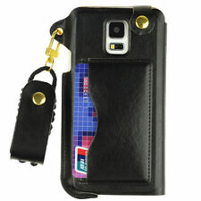 Synthetic Leather Clip Cases for Samsung Mobile Phones