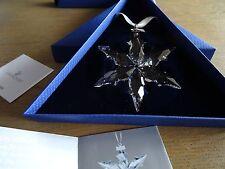 Swarovski : Christmas ornament  Star 2015 - 5099840 / 9400 000 550.