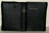 The Holy Bible, Old And New Testaments - Odhams Press - New Brevier 8vo Ref