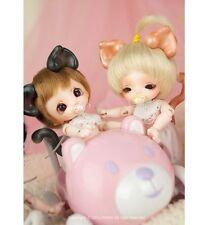 1/12 Bjd Doll dollpamm BEBE Kitty Parts free face make up+ eyes —elf body