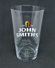 New Genuine John Smiths Tadcaster pint glass M17 CE STAMPED
