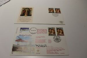 1986 GB ROYAL WEDDING PRINCE ANDREW AND FERGIE COVERS - LIMITED EDITION NUMBERED