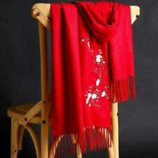 Cashmere Floral Pashmina Scarves for Women