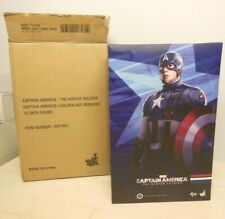 Hot Toys MMS 240 Captain America Winter Soldier Golden Age Version 1/6 Nuovo