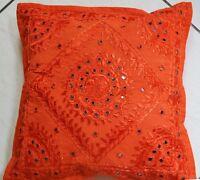 40x40cm 100% Baumwolle Indische Kissenbezüge Sofa Kissenbezug Stuhl Dekor