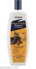 Zodiac Flea & Tick Shampoo for Dogs & Cats 18oz Bottle