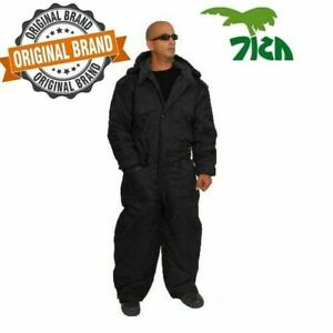 Coverall IDF Hermonit Snowsuit Ski Snow Suit Men's Cold Winter Clothing - Black