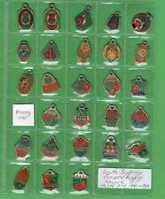 #T306.  SOUTH SYDNEY JUNIORS  RUGBY LEAGUE CLUB MEMBER BADGES 1965-79, 1981-92