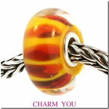 AUTHENTIC TROLLBEADS 61310 Red Shadow - retired