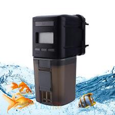 Automatic Auto Aquarium Tank Pond Digital LCD Fish Food Feeder Feeding Timer New