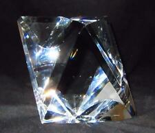 """Baccarat Crystal Artist Signed, LE 500 Art Glass Heavy Sculpture Paperweight, 5"""""""