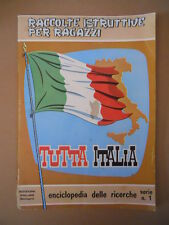 ALBUM Folgore TUTTA ITALIA  Anni 70 Vuoto [P27] Discreto