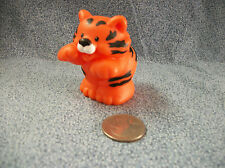 Fisher Price Little People 2001 Orange Tiger 2 1/4""