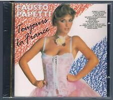 FAUSTO PAPETTI TOUJOURS LA FRANCE CD F.C. NO BARCODE SIGILLATO!!!