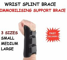 Wrist Splint Brace Protection Support Strap Carpel Tunnel CTS RSI Pain Relief