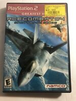 Ace Combat 04: Shattered Skies (Sony PlayStation 2 PS2, 2001) ✅In Box ✅Tested