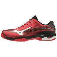 Mizuno tennis shoes Wave Exceed 3 Sw Ac 61Ga1915 Red × White × Black