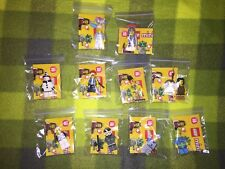 LEGO 10 OF THE COLLECTABLE MINIFIG SERIES 10 + ALL ACCESSORIES & INSTR. NEW