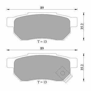 Bosch Rear Brake Pads DB1163BL