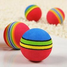 Baby Dog Toys Pet Toys Puppy Dog And Cat Toys Chew Rainbow Ball Toys For Cat Pet
