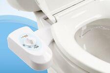 Washlet Toilet Water Spray Bidet Seat Attachment Wash Bum Butt Cleanse Genitals