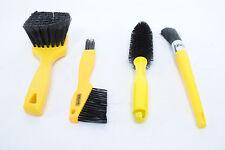 Pedros Tools Bike Brush Kit 4 Brushes w/ Bag Road Hybrid Mountain Chain Cleaning