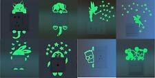 Stickers pour interrupteur fluorescent, chambre d'enfant, etc...