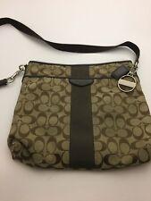 Coach Cross-Body Signature File Handbag