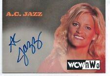 1999 Topps Nitro WCW/NWO A. C. Jazz Autograph