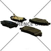 Disc Brake Pad Set-Posi-Quiet Ceramic Disc Brake Pad with Shims-Preferred Front