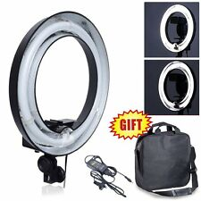 13'' 34cm 400W DIVA Undimmable Ring Light Lamp fr Beauty Makeup Photo Video US