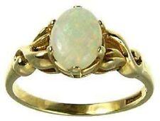 9Carat Yellow Gold Fine Gemstone Rings