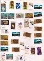 36 NEW ZEALAND stamps.