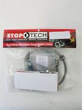 950.47508 Stoptech SS Rear Brake Line Set, Fits 08-17 Subaru STI & 13-16 FRS BRZ